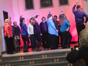Animaterra at the Keene Music Festival Choral Kick-Off, September 1, 2017